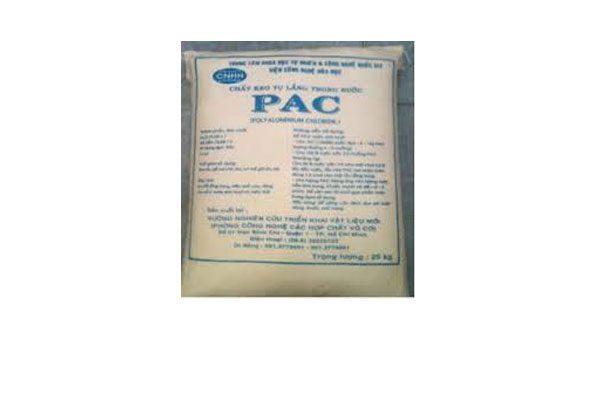 Chất lắng cạn PAC 25Kg