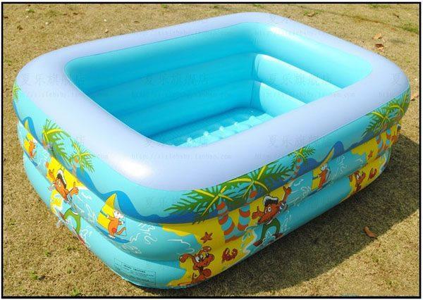 Bể bơi trẻ em summer 2 tầng
