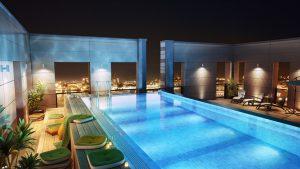 Chi phí xây dựng bể bơi thông minh trong nhà