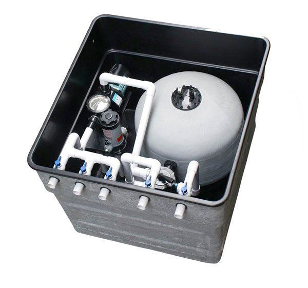 Hệ thống lọc tuần hoàn bể bơi
