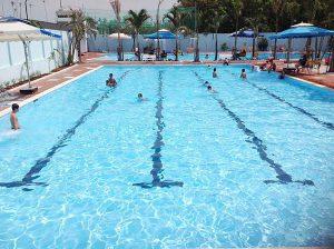 Mẫu hồ bơi kinh doanh tại Bình Định